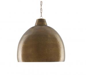 Earthshine Brass Pendant