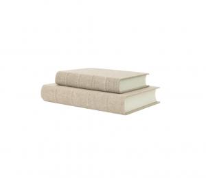 Handcrafted Linen Book
