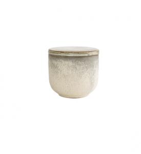 Lidded Glazed Jar