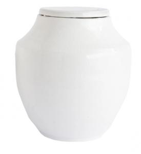 White Terracotta Jar