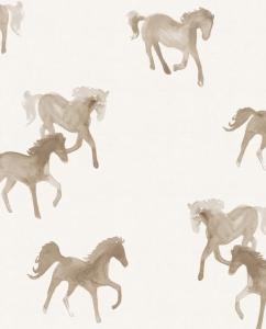 Watercolor Horses Wallpaper
