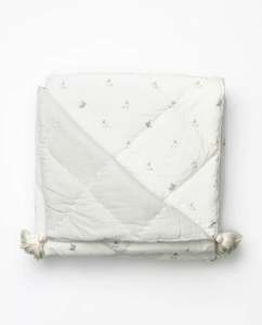 Tasseled Bunny Blanket