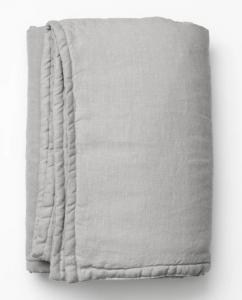 Quilted Linen Blanket