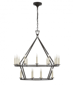 Darlana Two-Tiered Ring Chandelier