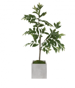 Faux Nandina Tree