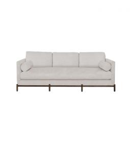 Morrison Wood Base Sofa