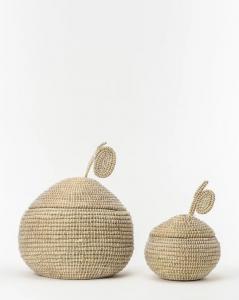 Woven Fruit Shaped Basket