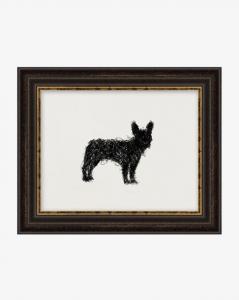 Scribbled Dog