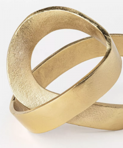 Decorative Brass Figurine Gold