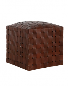 Ackley Leather Ottoman