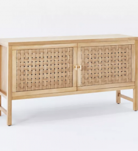 Palmdale Woven Door Console Natural