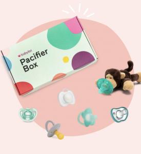 Pacifier Box (6 Pacifiers)