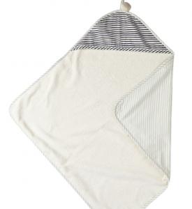 Stripes Away Hooded Towel