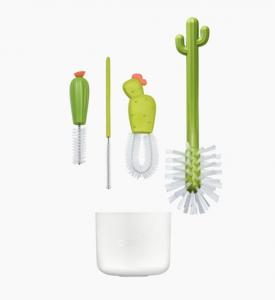 Cacti 4 Piece Bottle Brush Set