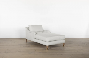 Lucille English Roll Arm Chaise Lounge