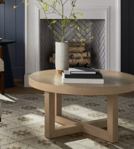 Rose Park Round Wood Coffee Table