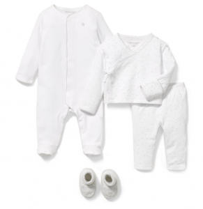 Baby 3-Piece White First Loves Gift Box