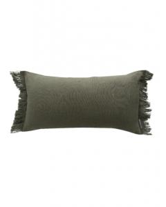 Hazelton Pine Fringed Pillow Cover
