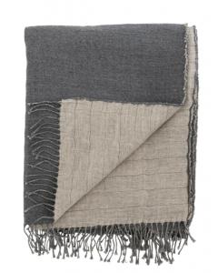 Linen & Wool Reversible Throw
