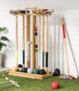 Croquet Lawn Game Set