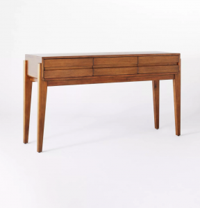 HHerriman Wooden Console Table with Drawers