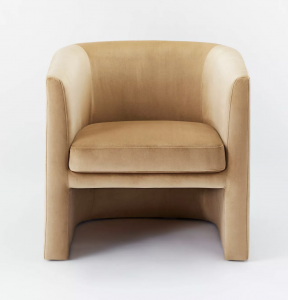 Vernon Upholstered Barrel Accent Chair