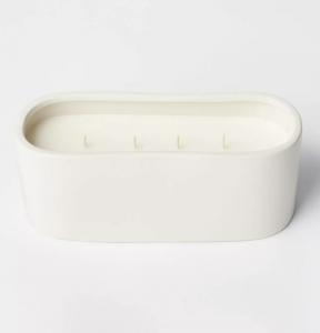 32oz Ceramic Jar 4-Wick Clove and Black Currant Candle