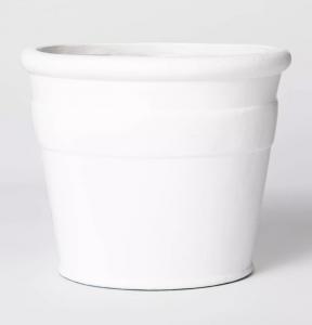 Composite Planter White