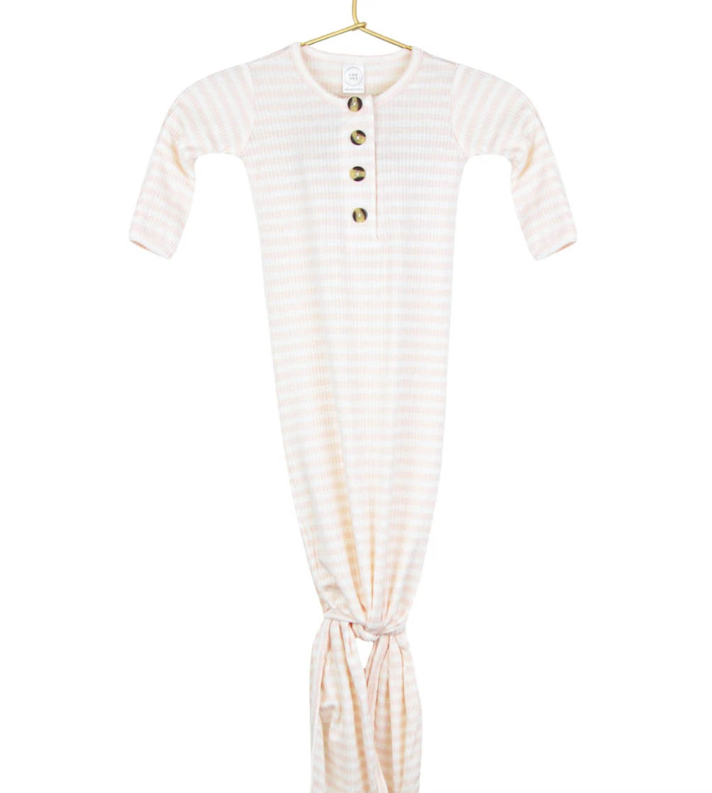Capri Ribbed Knotted Gown