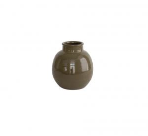 Brookings Carob Stoneware Vase