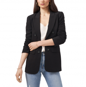 Faux Double Breasted Blazer
