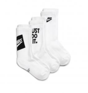 Kids' Everyday Cush Assorted 3-Pack Crew Socks