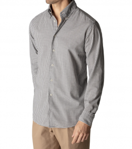 Soft Casual Slim Fit Flannel Button Down Shirt
