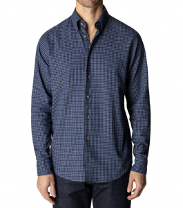 Contemporary Fit Soft Casual Flannel Button-Down Shirt