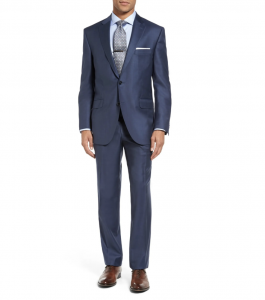 Flynn Classic Fit Wool Suit