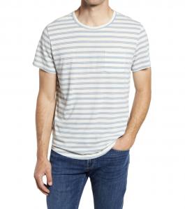 Saddle Hem Pocket T-Shirt