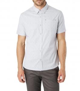 Modular Mix Slim Fit Shirt