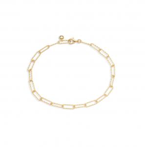 Alta Textured Chain Link Bracelet