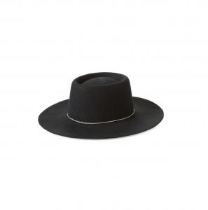 Wool Boater Hat