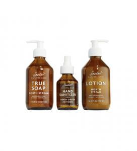 North Stream True Soap, Hand Sanitizer & Lotion Set