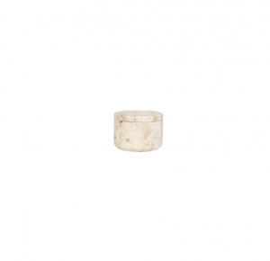 Travertine Marble Canister