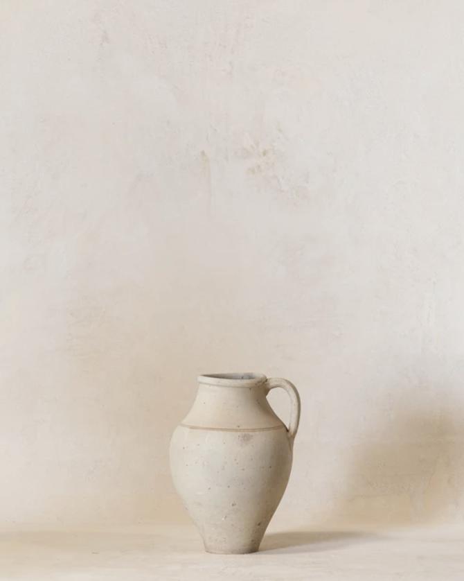 Natural Stoneware Jar