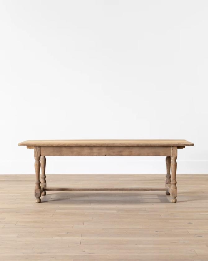 Vintage Oak Dining Table