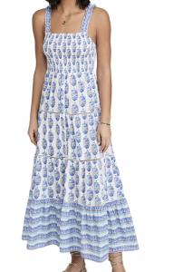 Smock Border Dress
