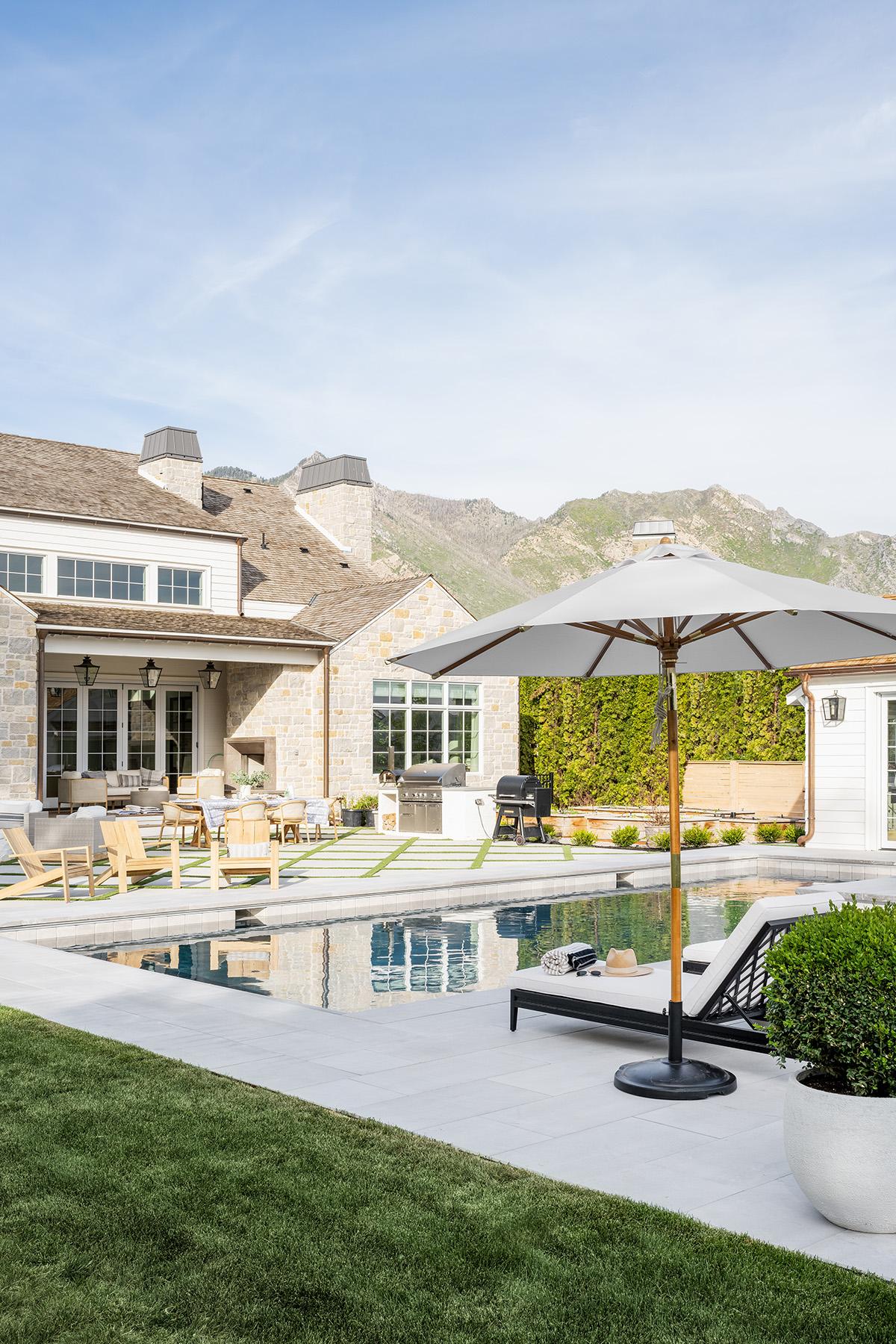 The McGee Home Pool