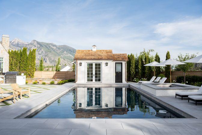 The McGee Home Pool House