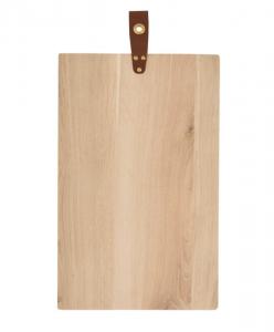 Leather Pull Bread Board