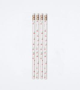 Set of 8 Cherries on Top Pencils