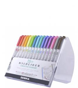 15ct Dual-tip Creative Marker