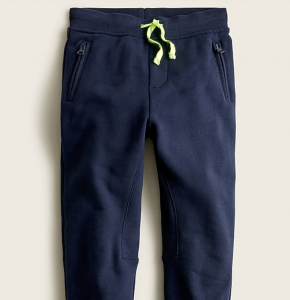 Boys' Slim-Slouchy Sweatpant in Terry